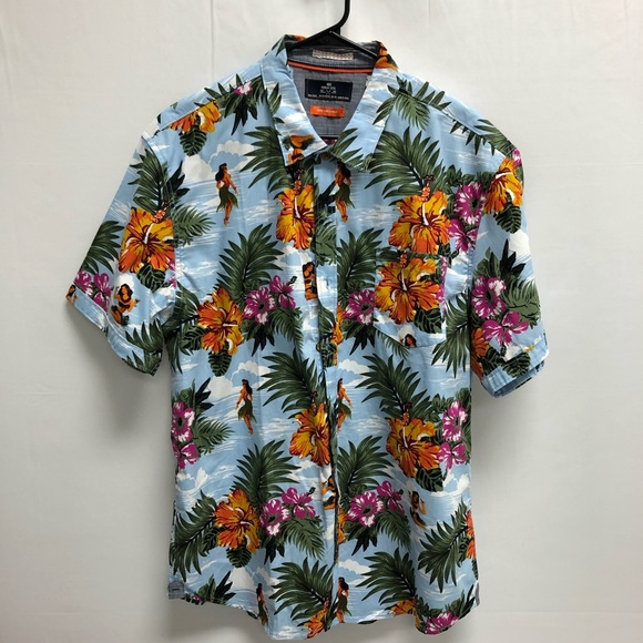 9d4a94d3 Men's Hula Girl Hawaiian Shirt. M_5c1874cfc2e9fedf8d13acd9